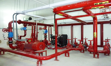 Building Fire Fignting System