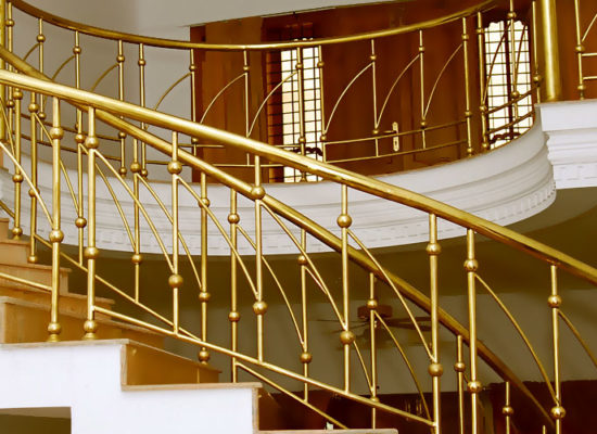 handrail Fabrication Al Mubashir Mechanicl Cont LLC